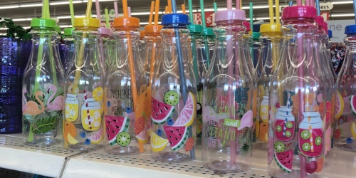 New Summer Finds Only $1 at Dollar Tree (Fun Water Bottles, Party Supplies & More)