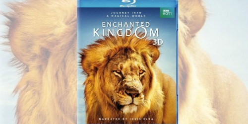 Enchanted Kingdom 3D Blu-ray Movie Only $9.99 (Regularly $25)