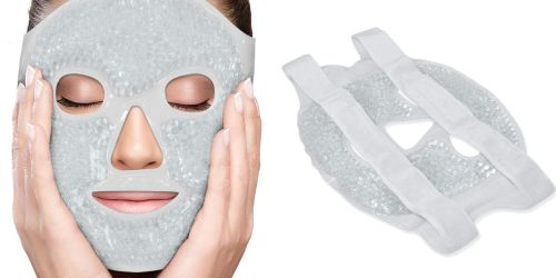 Therapeutic Facial Masks Only $11.89 on Amazon (Great for Headaches, Sunburns, & More)