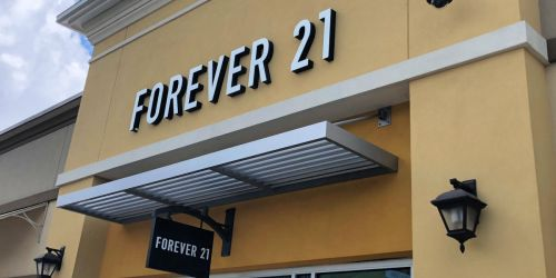 $5 Off $5+ Forever 21 Online Purchase