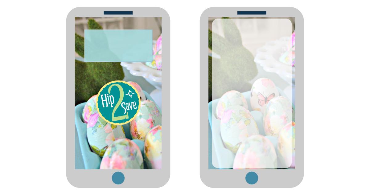 april digital wallpapers — easter smartphone background