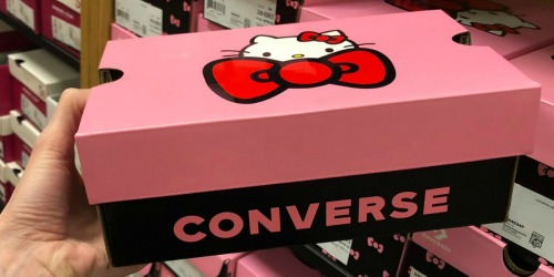 Converse x Hello Kitty Kids Shoes as Low as $13.98 Shipped + More