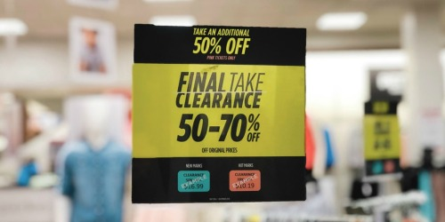 Up to 95% Off Clearance at JCPenney (Apparel, Shoes, Jewelry & More)