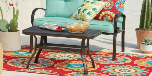 4'x6′ Outdoor Rugs Only $24 at Kohl's (Regularly $80) + More