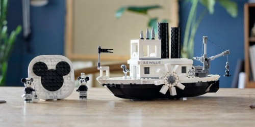 LEGO Disney Steamboat Willie Building Set Just Released
