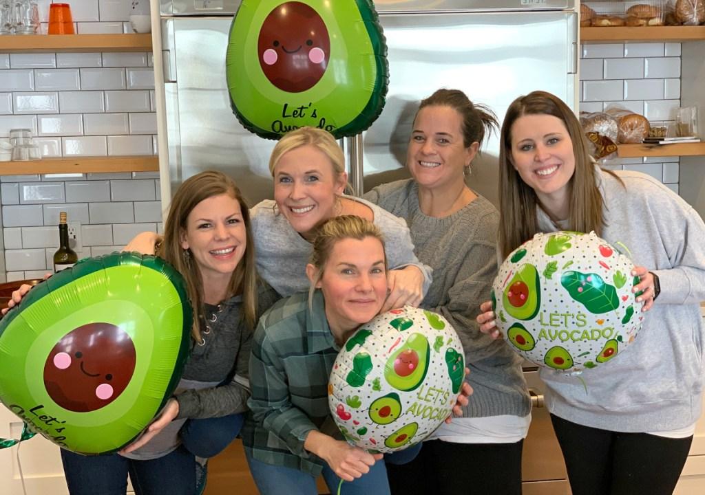 let's avocado balloons