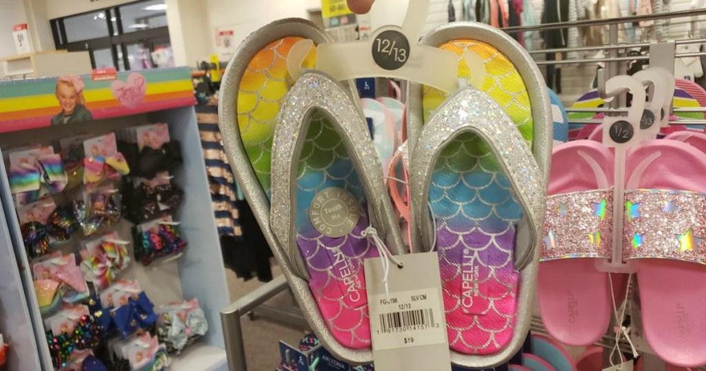 c1b22844256a Girls Sandals   Flip-Flops Just  7.60 at JCPenney (Regularly  19) + More  Footwear Deals