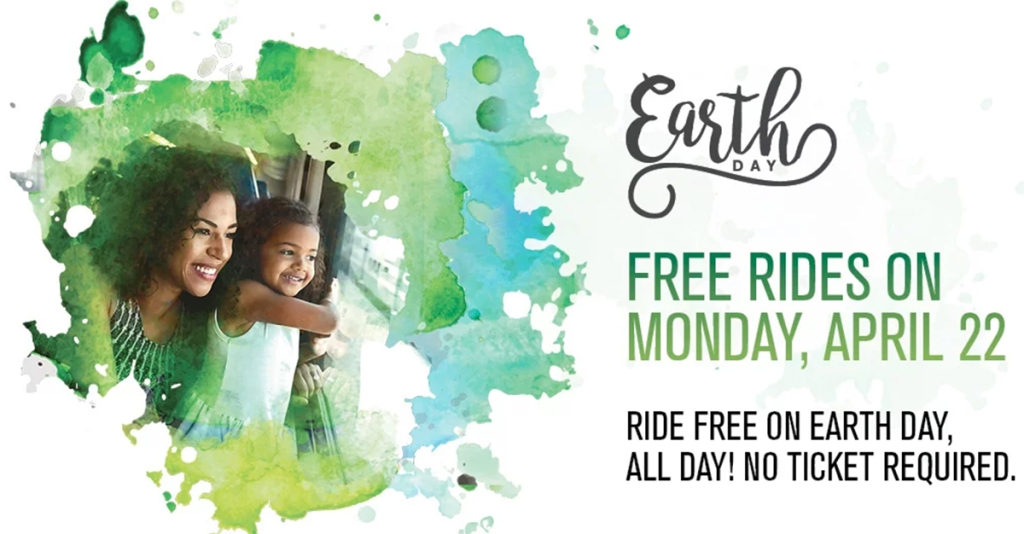 metrolink trains free rides on earth day april 22nd