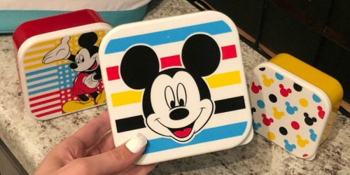 Up to 70% Off Disney Snack Containers, Dinnerware Sets, & Hooded Towels at Kohl's