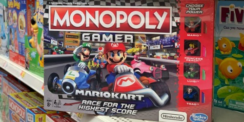 Monopoly Gamer Mario Kart Only $9 at Walmart (Regularly $20)