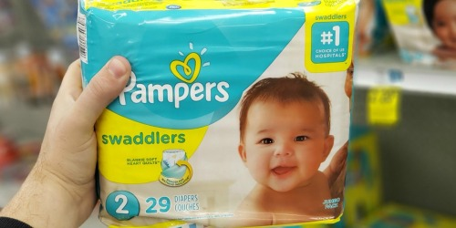 9 Pampers Diapers Jumbo Packs Only $32.85 Shipped After Walgreens Rewards & Rebate