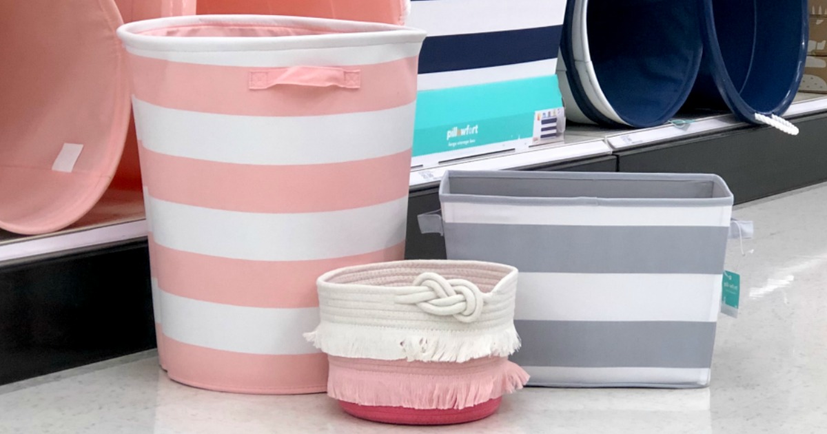 30% Off Pillowfort Storage Baskets & Bins at Target.com