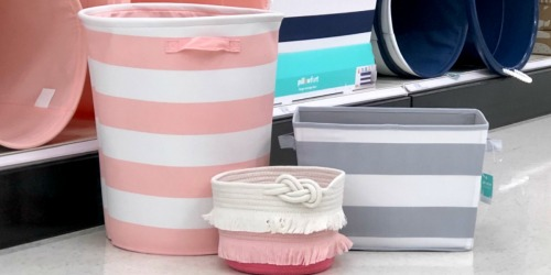 30% Off Pillowfort Storage Baskets & Bins at Target.com
