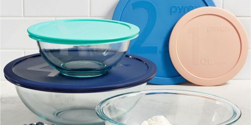 Pyrex 12-Piece Glass Storage Set Only $14.99 at Macy's (Regularly $48) + More