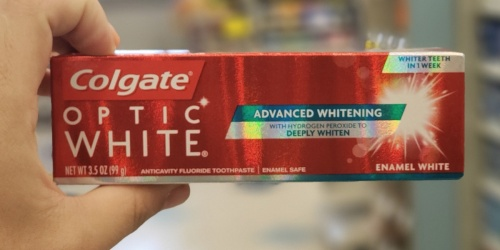 FREE Colgate Optic White Toothpaste at Rite Aid