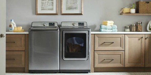 Up to $700 Off Samsung Washer & Dryer Sets at Home Depot