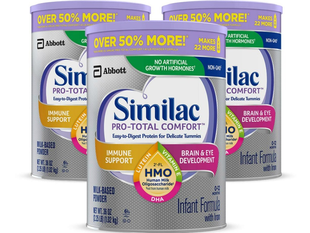 Amazon: THREE Similac Pro-Sensitive Cans Only $69 Shipped