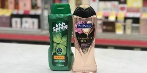 Irish Spring & Softsoap Body Wash Just 93¢ Shipped Each After Walgreens Rewards