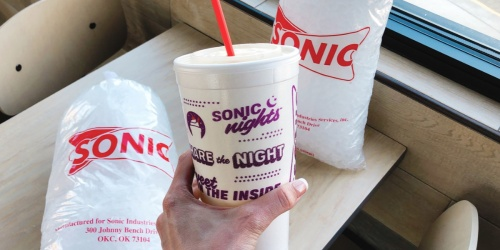 Sonic Drive-In Medium Slushes Only 79¢ (April 24th)