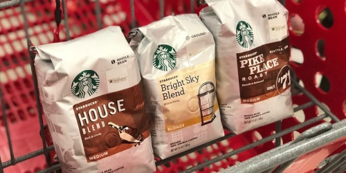 New Starbucks Coupon = Up to 50% Off Bagged Coffee & K-Cups at Target (April 14th Only)