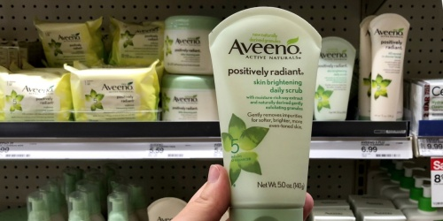 Up to 40% Off Aveeno Products After Target Gift Card