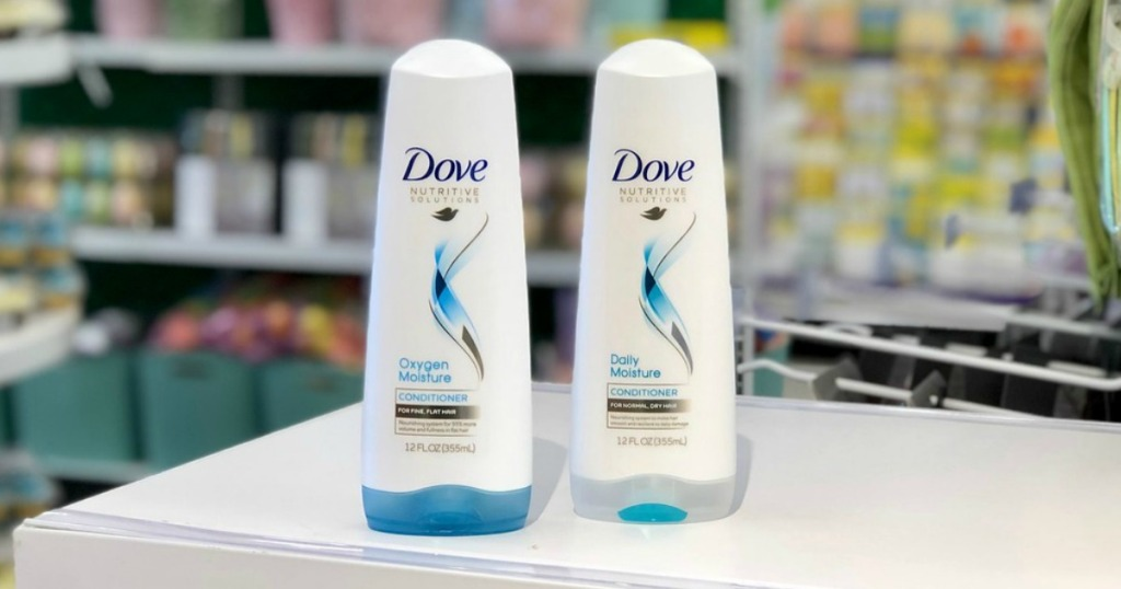 dove shampoo and conditioner at target