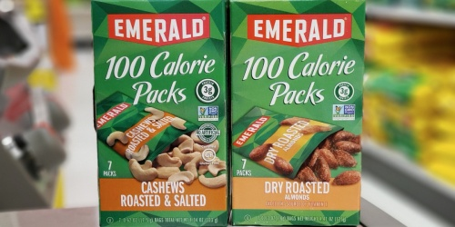 $3 Worth of New Emerald Nuts Coupons + Target Deal Ideas