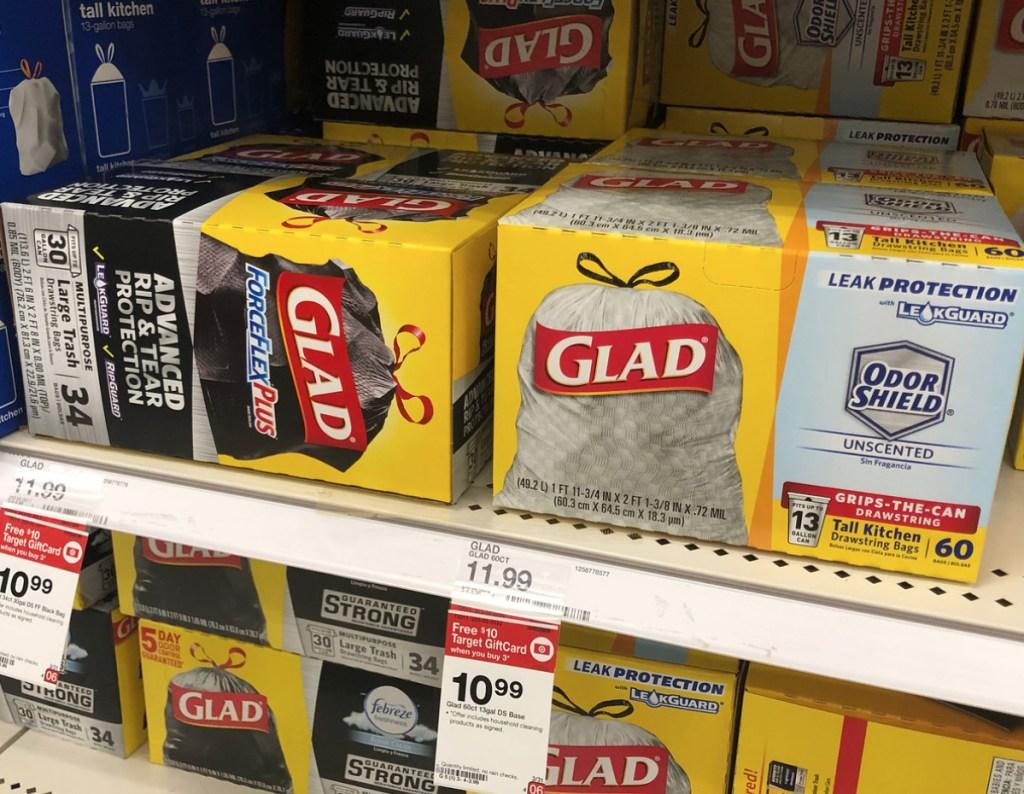 New 1 1 Glad Odorshield Trash Bag Coupon Target Deal Idea Hip2save