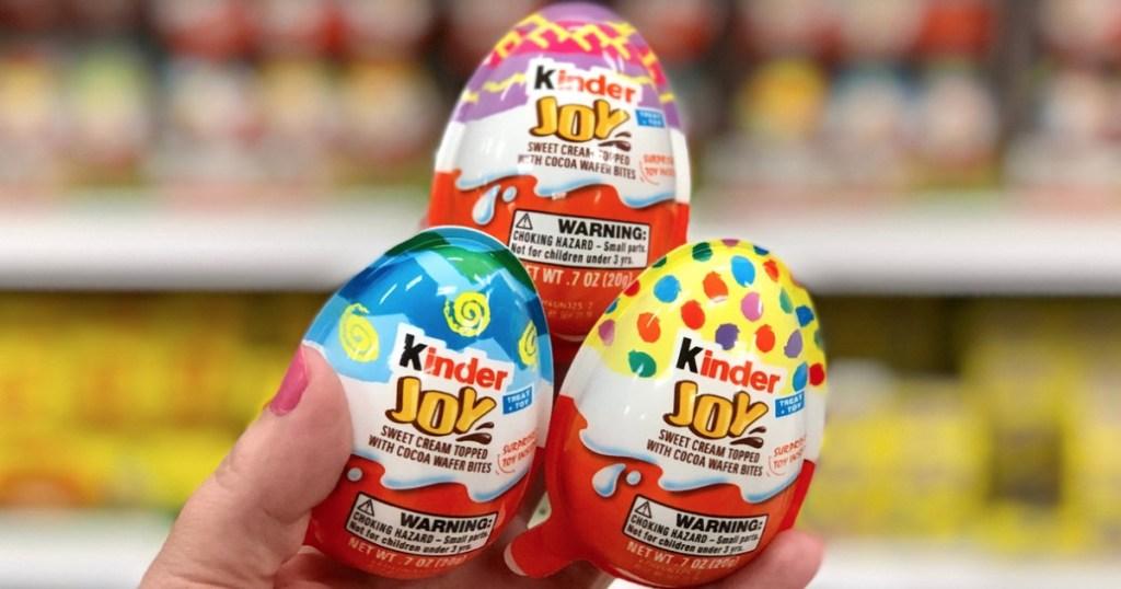Kinder Joy Eggs Only 65 After Cash Back At Target Hip2save