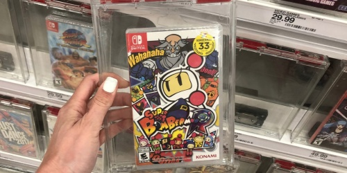 Super Bomberman R for Nintendo Switch Only $19.59 at Amazon (Regularly $40)