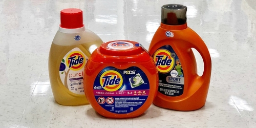 Target.com: BIG Tide Detergents as Low as $6.49 Each After Target Gift Card