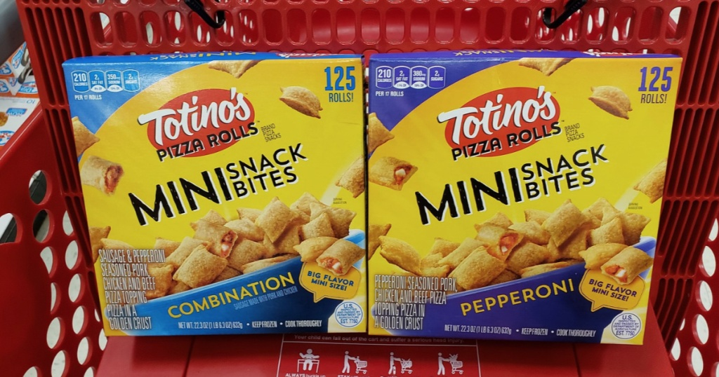Totinos Pizza Rolls Mini Snack Bites 125 Count Boxes Only