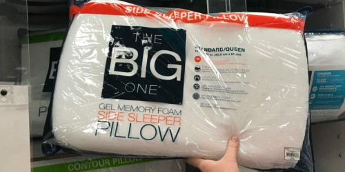 The Big One Memory Foam Side Sleeper Pillows Only $12.74 at Kohl's (Regularly $50)