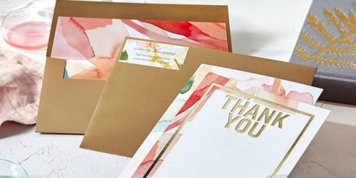 20 Custom Shutterfly & Tiny Prints Cards ONLY $1 Shipped (Over $45 Value)