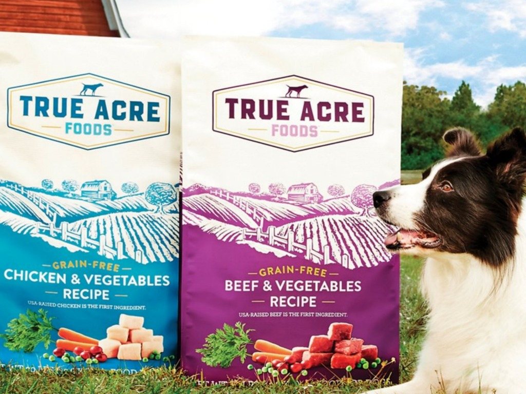 true acre dog food bags