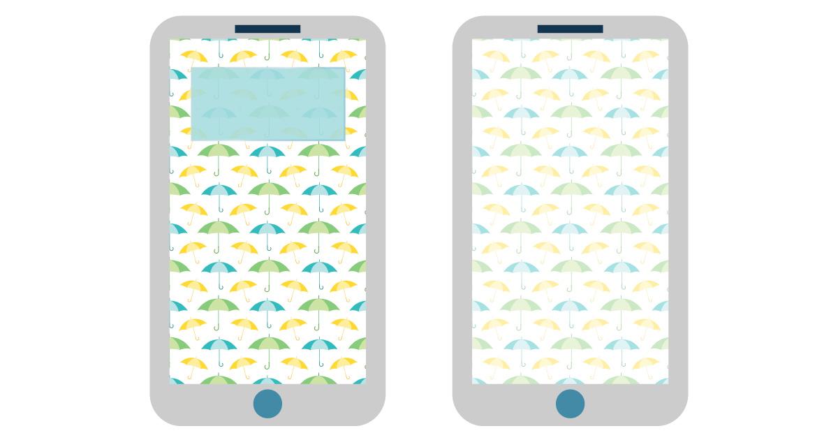 april digital wallpapers — umbrella smartphone background