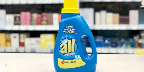 All Laundry Detergent Only $1.99 at Walgreens (Starting 3/15)