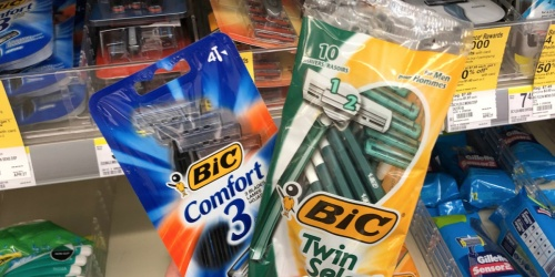 Better Than FREE BIC Disposable Razors After Walgreens Rewards