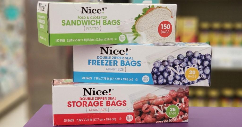 nice! baggies at walgreens