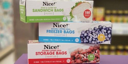 Nice! Freezer, Storage & Trash Bags Only 92¢ Per Box at Walgreens