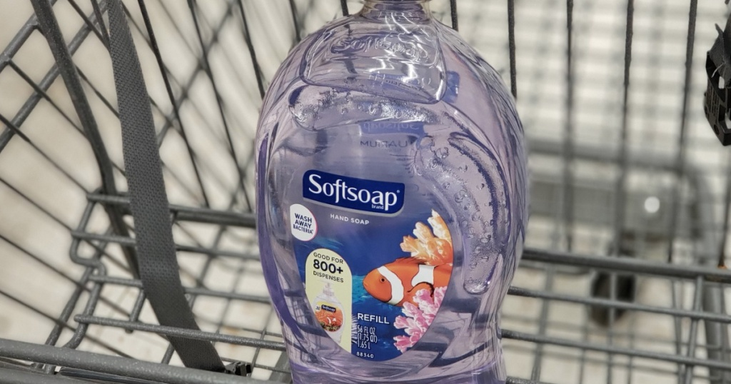 soft soap in a cart