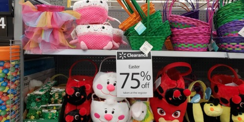 75% Off Easter Clearance at Walmart (PJ Masks, Barbie Baskets & More)