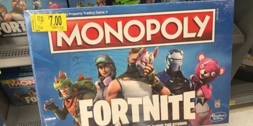 Monopoly Fortnite Board Game Just $7 (Regularly $20)