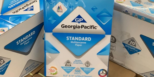 Georgia-Pacific Standard Multipurpose Paper Possibly Only 75¢ at Walmart (Regularly $4)