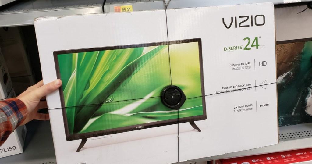 "VIZIO 24"" HD LED TV as Low as $21 at Walmart (Regularly $118"