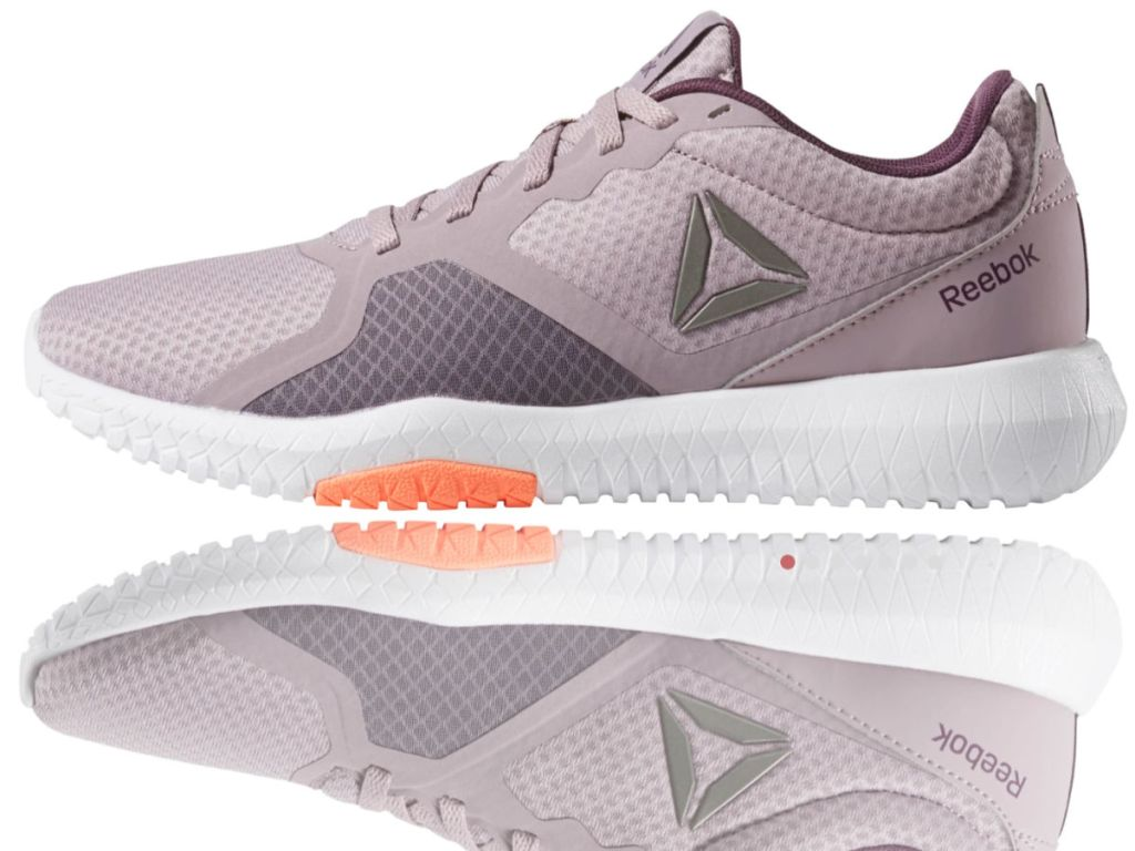 Reebok Flexagon Force in lilac and voilet