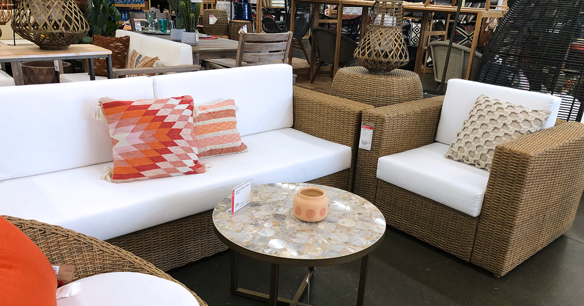 patio conversation set at cost plus world market