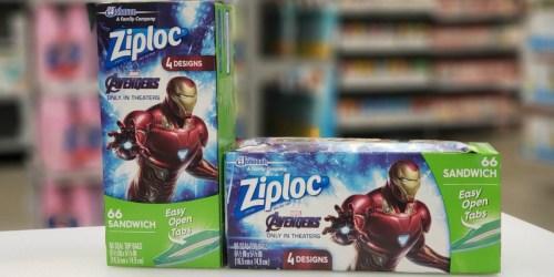FREE Marvel Studios' Avengers: Endgame Movie Ticket w/ Ziploc Purchase