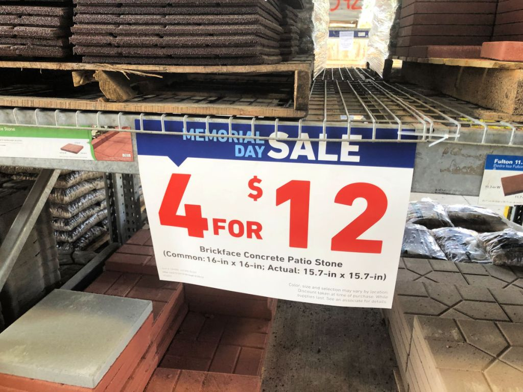 Lowe's Memorial Day Sale LIVE NOW (In-Store & Online