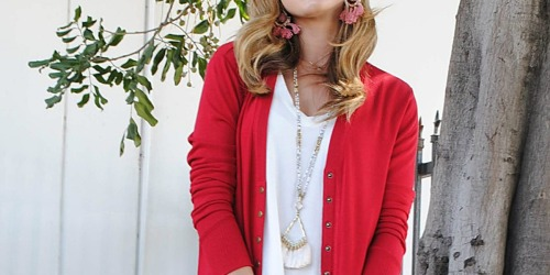 Long-Sleeve Snap-Button Cardigans Only $14.99 on Zulily (Regularly $54)